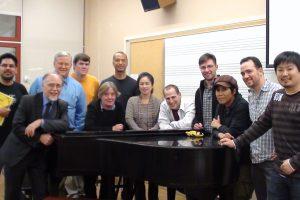 США, Нью-Йорк, 2011. После мастер-класса в Aaron Copland Music School (NY)