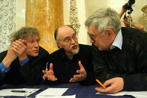 "Ekimovski, R, Koroliov in Yuri of Competition ""Step to Left"" St.Petersburg."